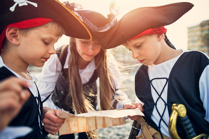 Pirate birthday party ideas for 7-year-old-boys