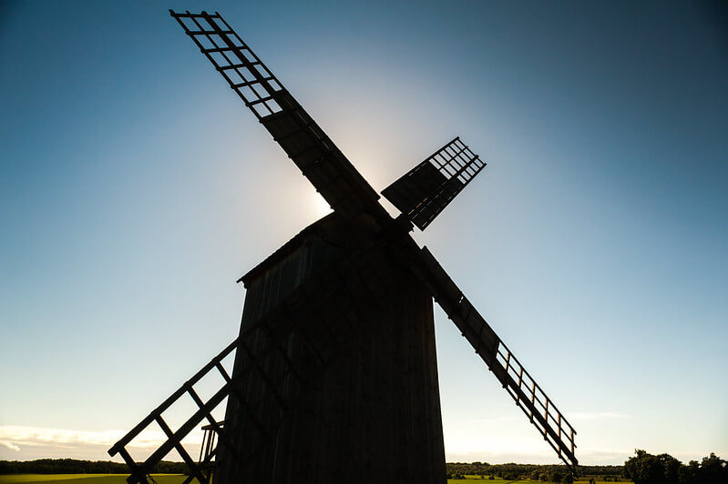 Real Windmill for Working Model Inspo