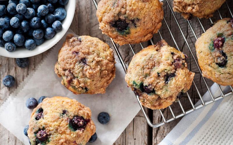 Weetabix blueberry muffins.