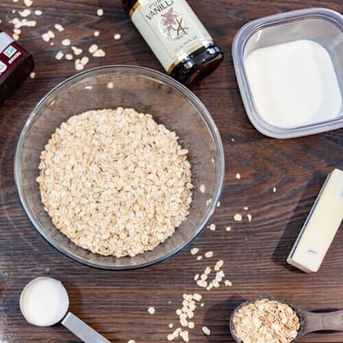 Slow Cooker Porridge Ingredients