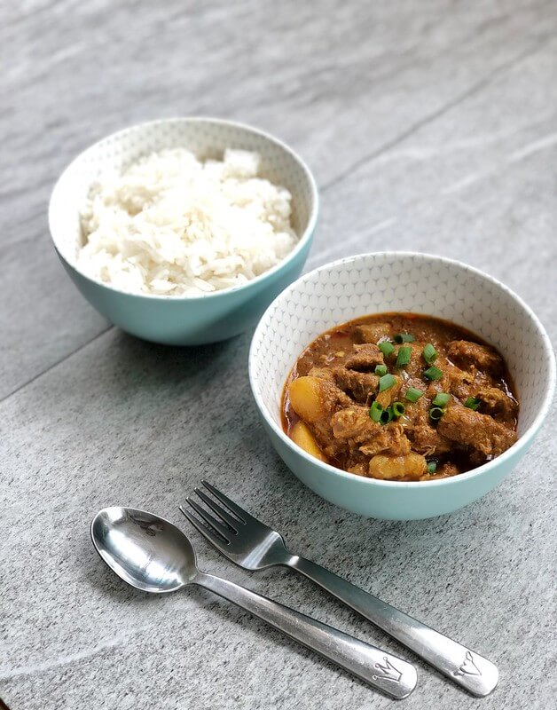 Children's Chicken Curry