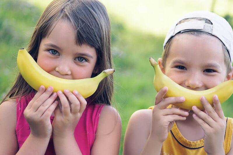 Banana smiles