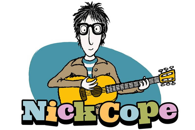 Nick Cope logo.