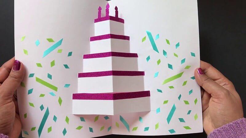 Pop-Up Birthday Card From CraftCorner