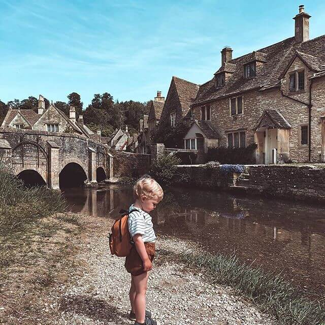 Castle Combe in Wiltshire