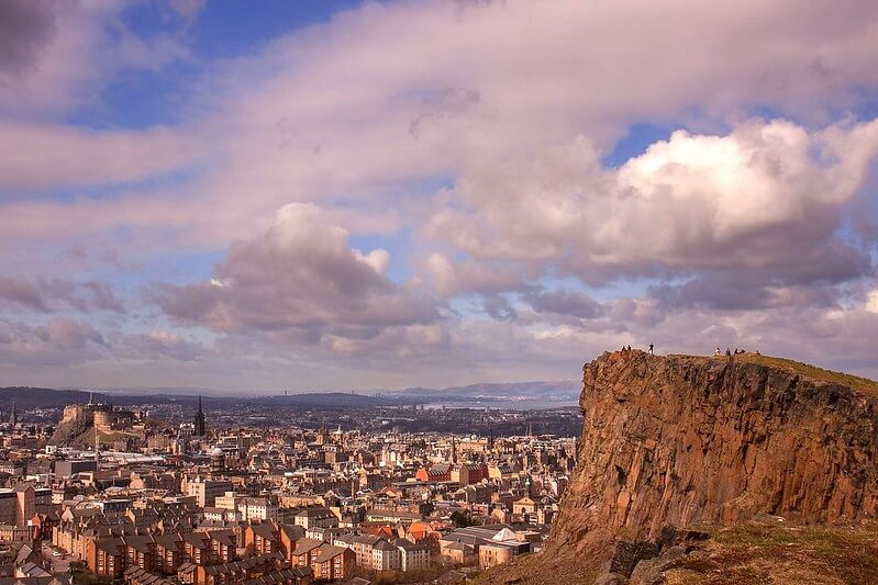 Arthur's Seat in Edinburgh