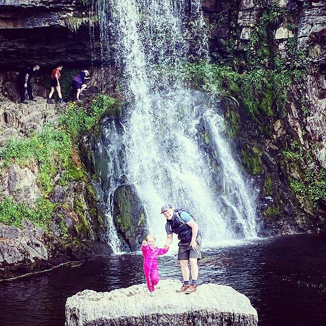 Ingleton Falls in North Yorkshire