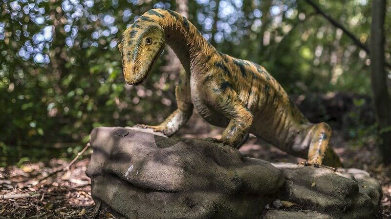 Dinosaur on the Knebworth Dinosaur Trail
