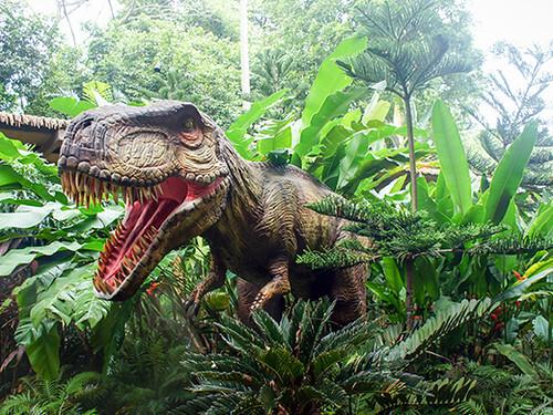 Dinosaur on the Knebworth Dinosaur Trail