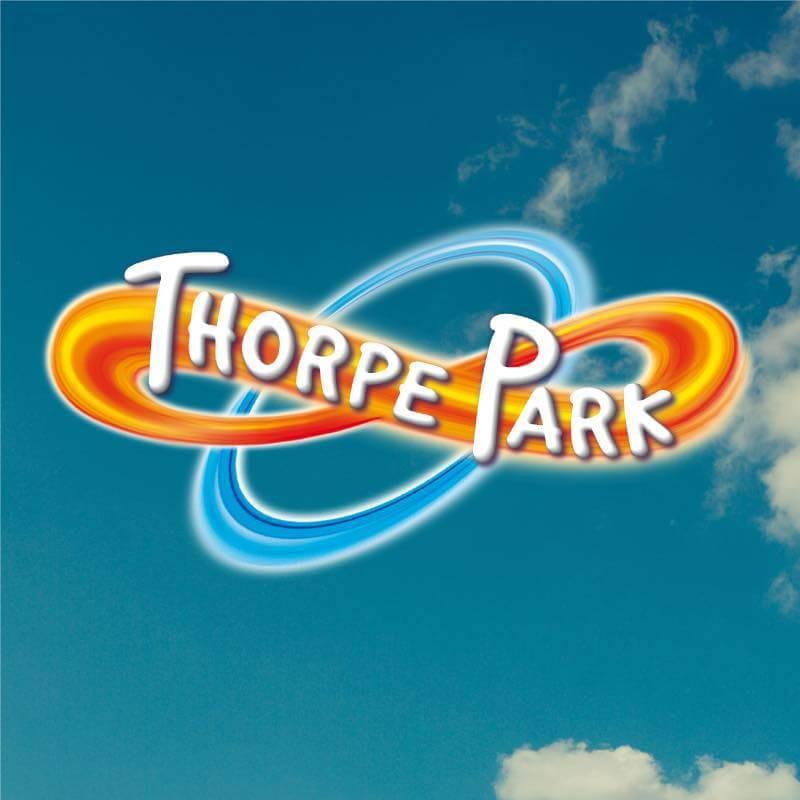Thorpe Park logo.
