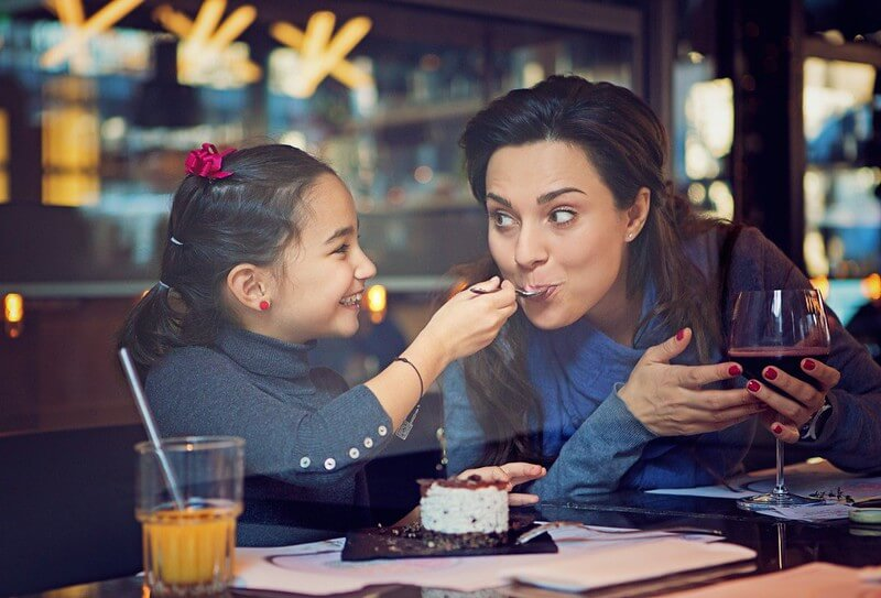 Family Eating at Child-Friendly Restaurants in London