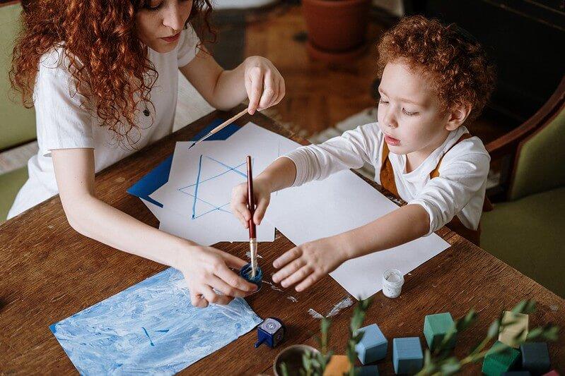 kids crafts during lockdown