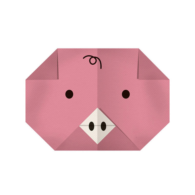 How To: Origami Pig