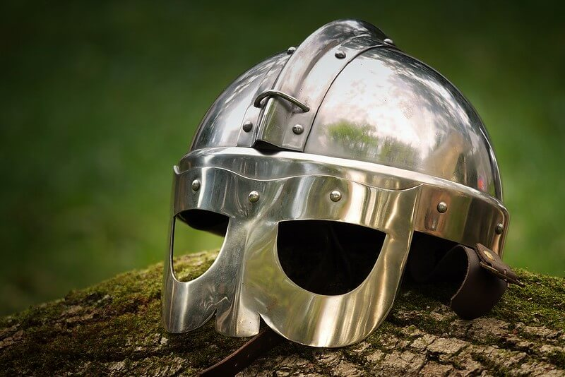 Anglo-Saxon helmet for Anglo-Saxon Religion lessons