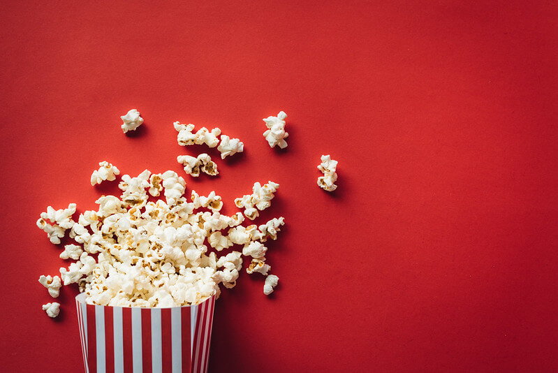 popcorn movie snacks