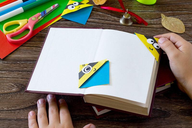 Minion Craft Ideas - Bookmarks