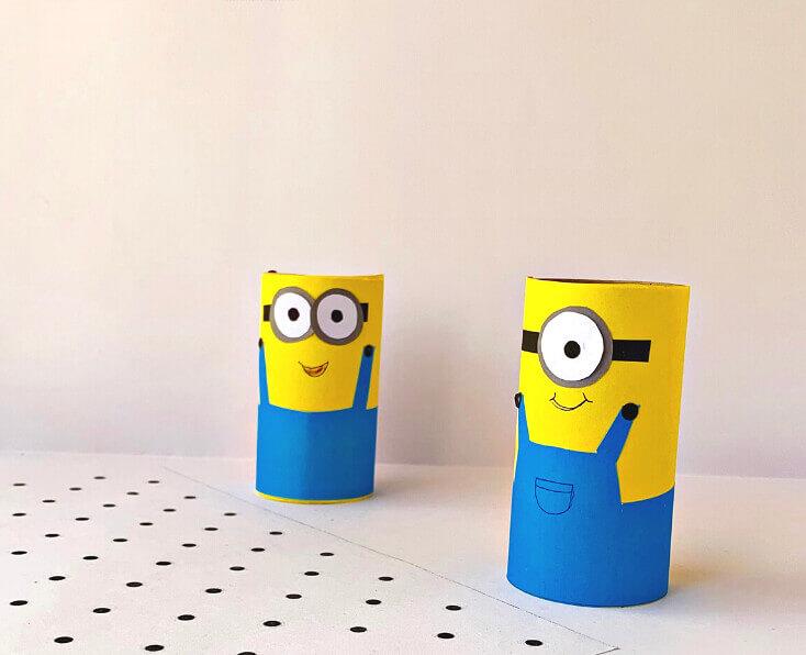 Minion Craft Ideas - Toilet Paper Roll