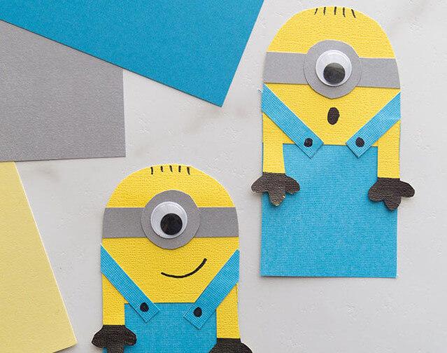 Minion Craft Ideas - Bookmark