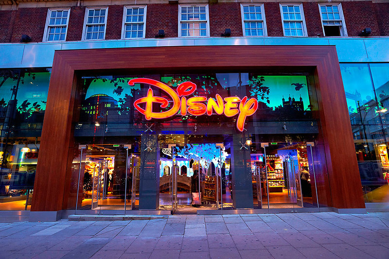 Disney store reopened