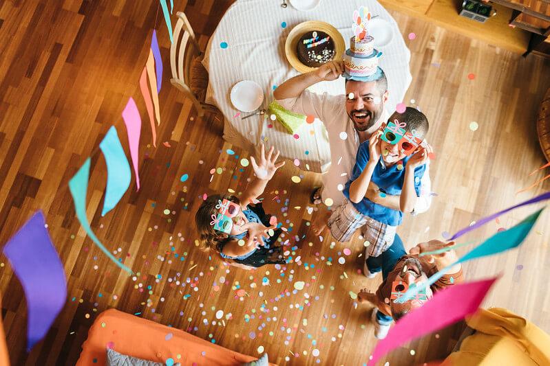 Kids Birthday Themes At Home