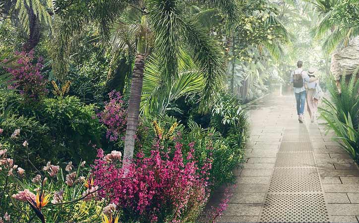 couple at royal botanic gardens kew