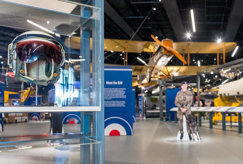RAF museum open london