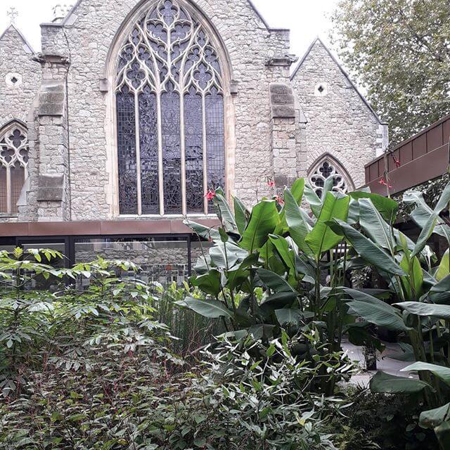 garden museum london in July