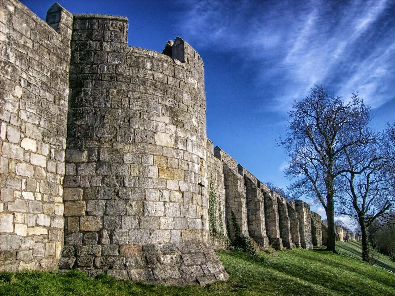 North Yorkshire city walls