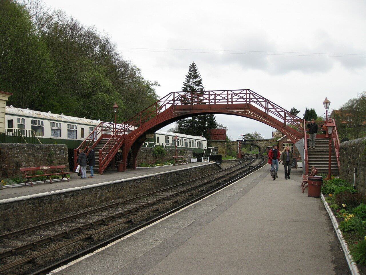 North Yorkshire railway for families