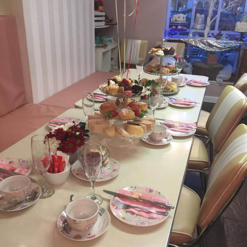 afternoon tea for families