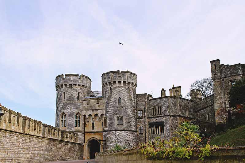windsor castle close-up