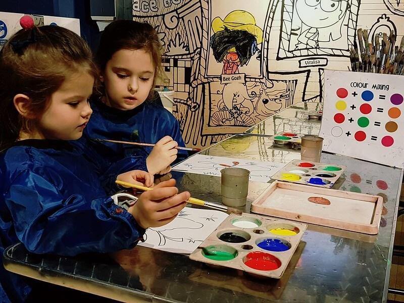 cartoon class london