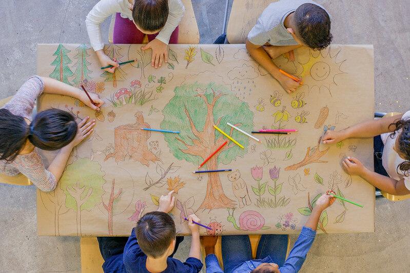 art class for families