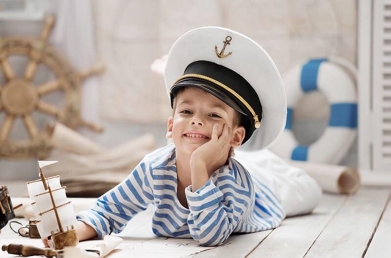 kid at maritime museum