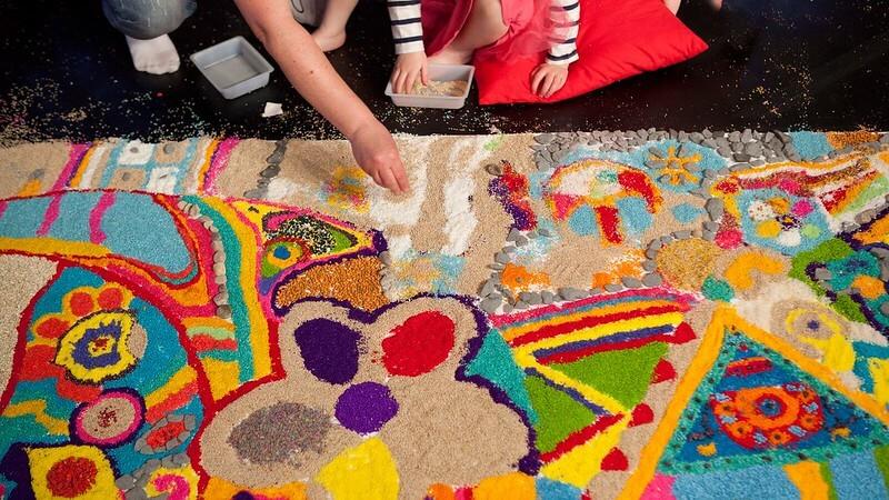 rangoli crafts for kids