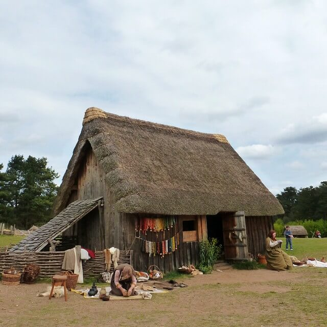 Example of Anglo Saxon Homes in West Stow To Use In Kids Fact File