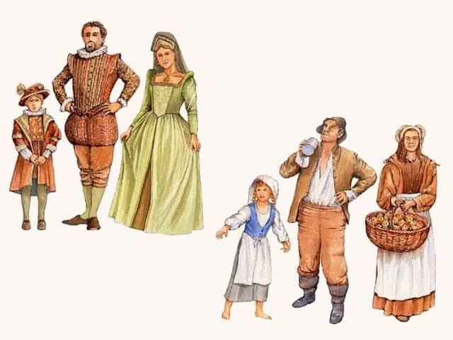 A comparison of rich tudors and poor tudors for a tudor children fact file