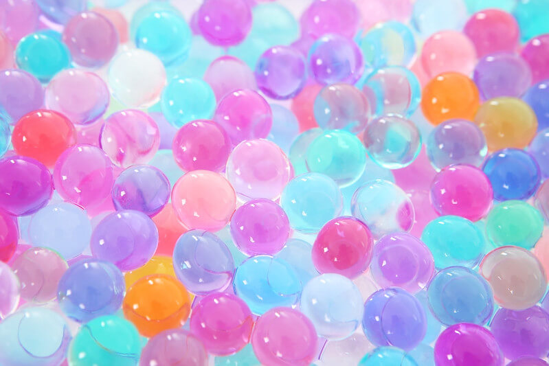 Kidadl answers what to do with water beads like these