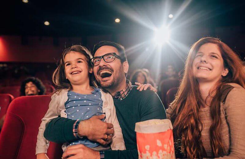 kids cinema trip london