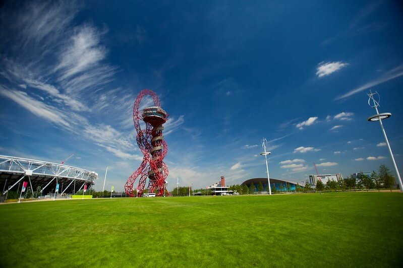 One of the best gardens and parks to visit in East London is the queen elizabeth olympic park