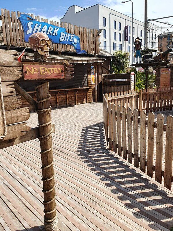 Pirate Adventureland, one of the best days out in weston super mare
