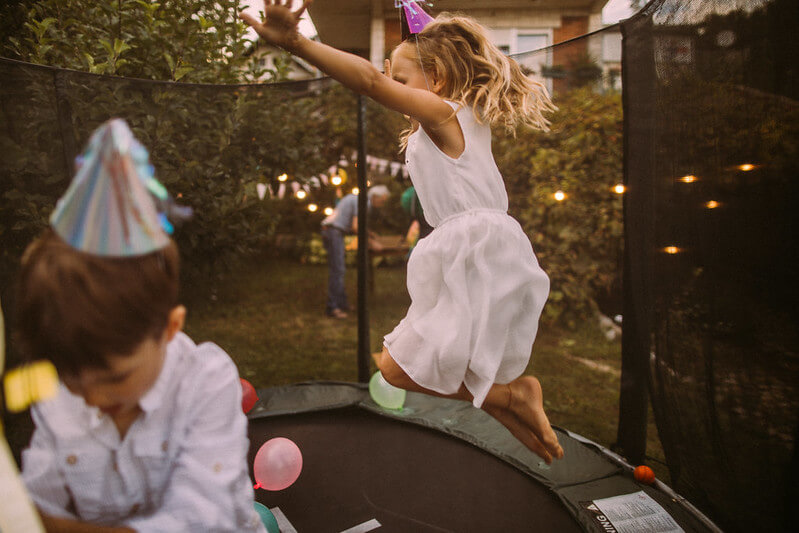 Trampoline birthday party ideas for 10 year olds