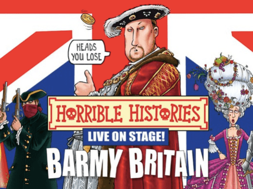 Horrible Histories promo poster.