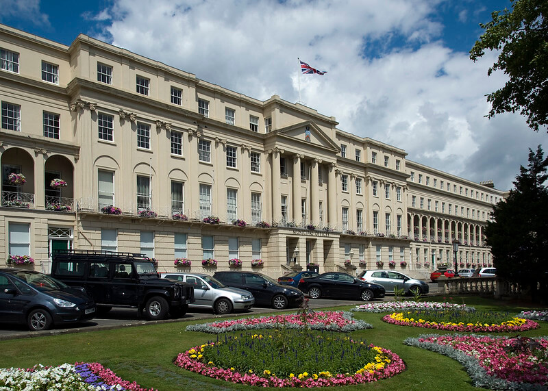 Cheltenham Municipal Offices are a beautiful site on your Cotswold Family Holidays