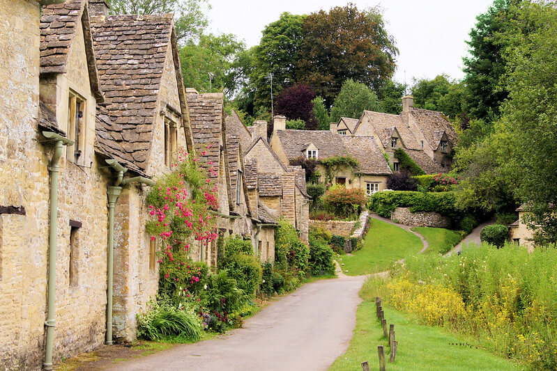Picturesque Bibury, a lovely Cotswold Family Holidays choice