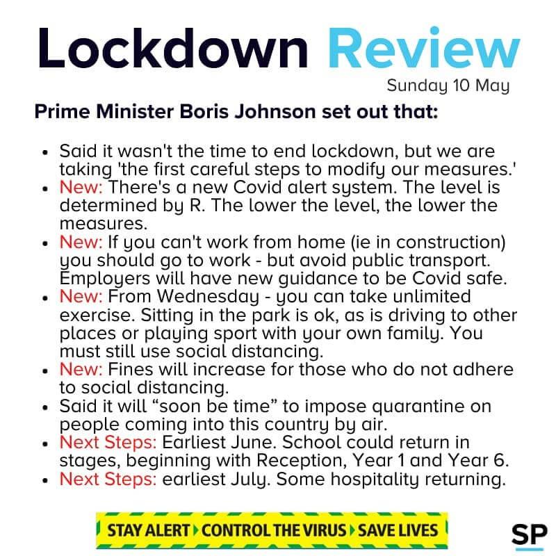 lockdown news account