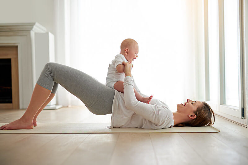 gentle exercises for new mums