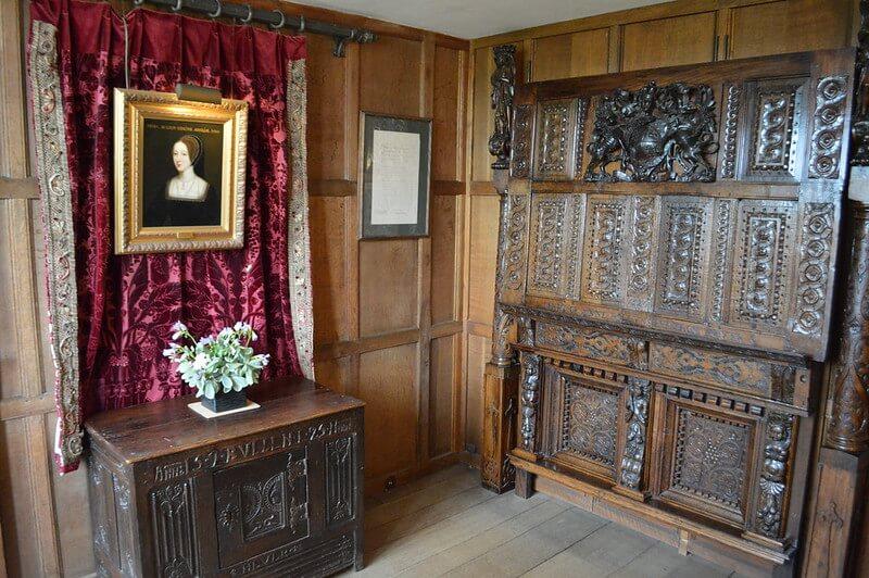 Anne Boleyn's Bedroom at Hever Castle