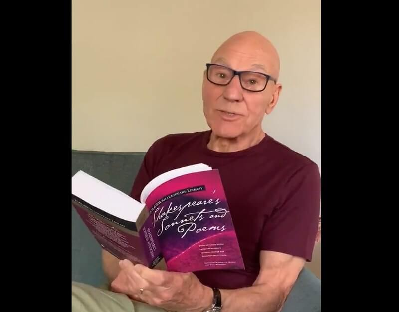 Patrick Stewart Reading Stories and Sonnets