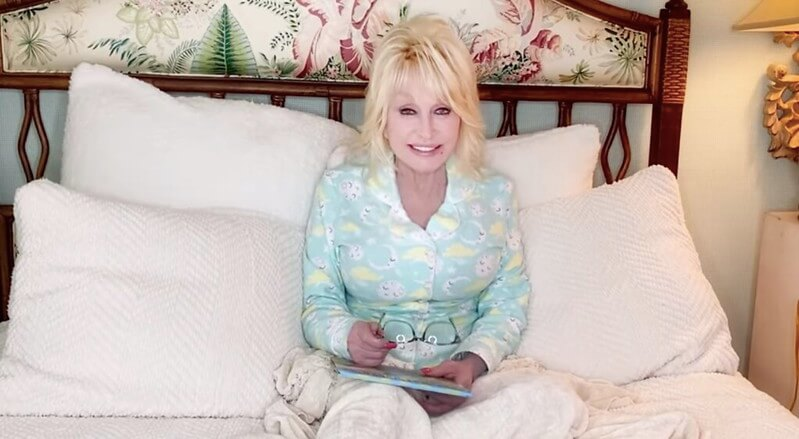Dolly Parton Reading Stories
